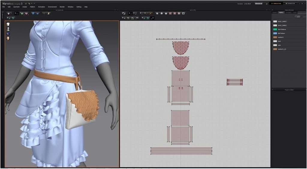 نرم افزارهای کاربردی صنعت مد و لباس marvelous