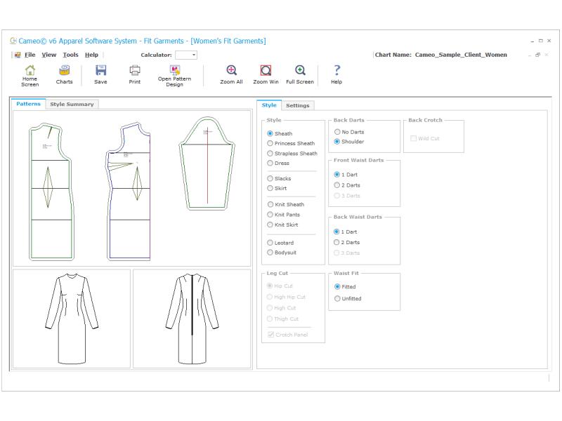 نرم افزارهای کاربردی صنعت مد و لباس