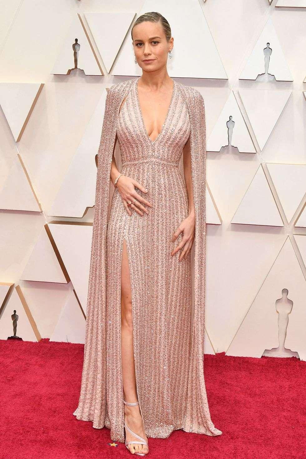 Brie Larson در اسکار 2020