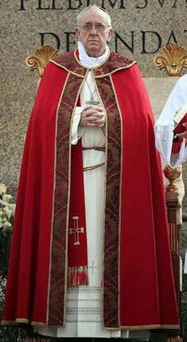 کاربرد نوارهای تزئینی در کلیسای کاتولیک