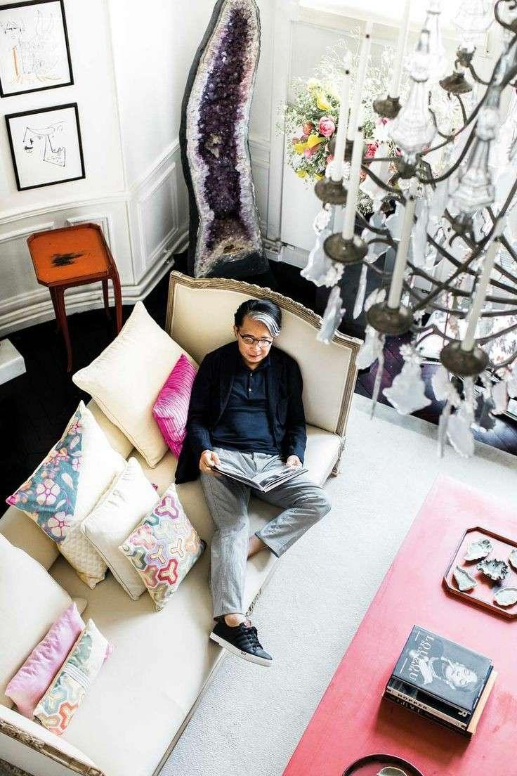 طراح لباس ژاپنی کنزو تاکادا بنیانگذار برند جهانی کنزو