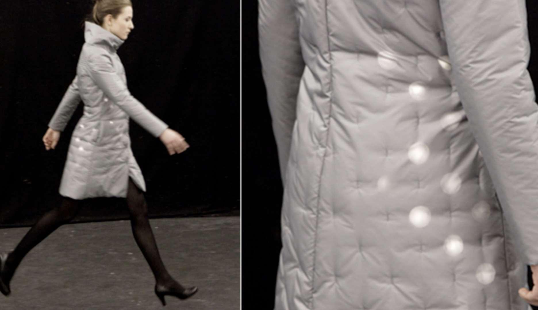 لباسهایی که با حرکت انسان LEDهای درون آن فعال میشوند