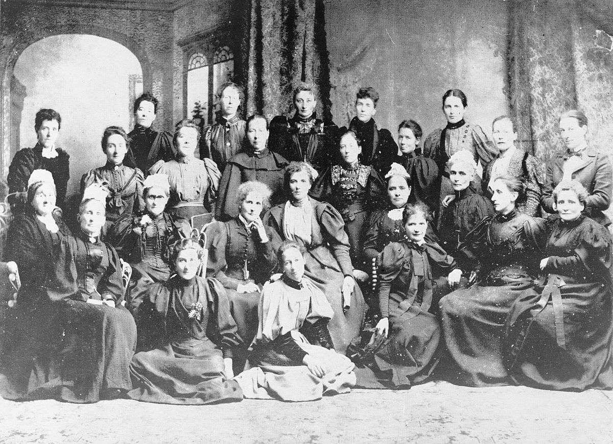 جمعی از زنان مبارز نیوزیلند