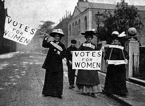 زنان در جنبش حق رأی