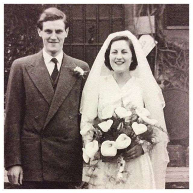 لورا اشلی و همسرش برنارد اشلی