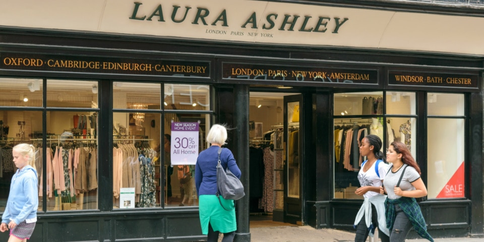 شعبه لورا اشلی در انگلیس