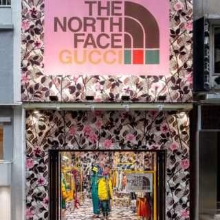 کمپین The North Face Gucci