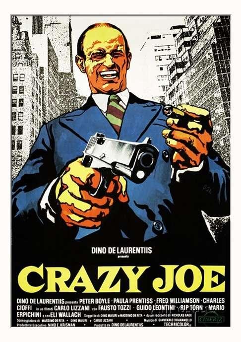 پوستر فیلم جو دیوانه، استایل خلافکاران