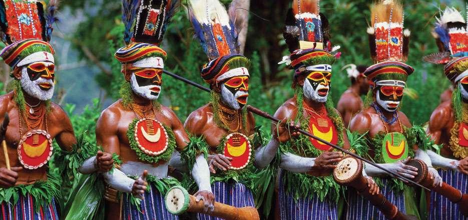 قبایل مختلف در اقیانوسیه