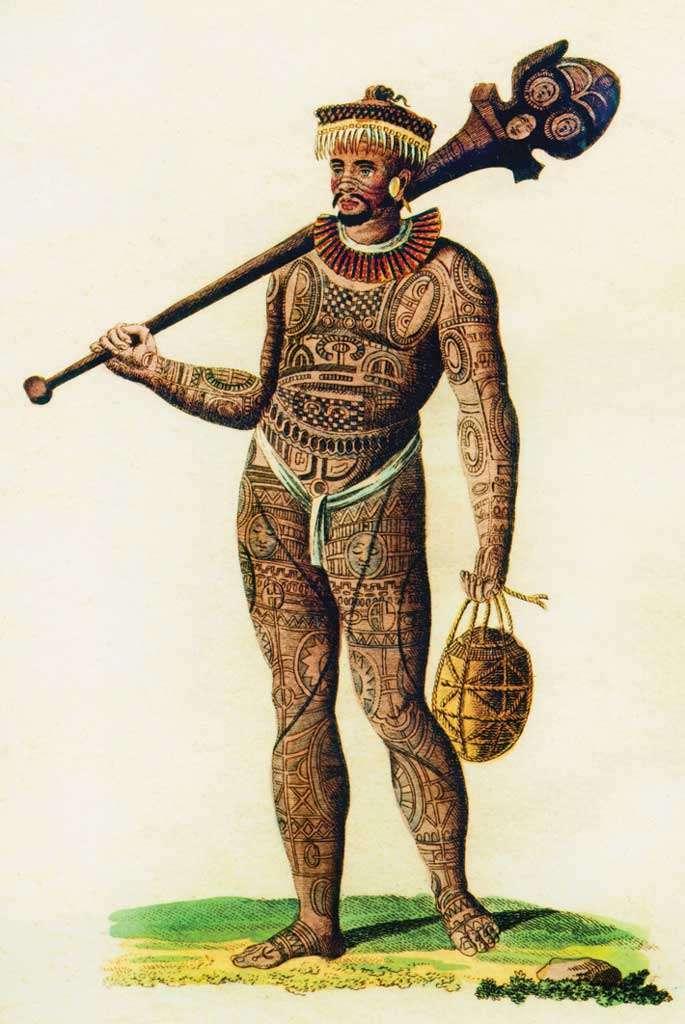 تصویری از یک مرد لاپیتا