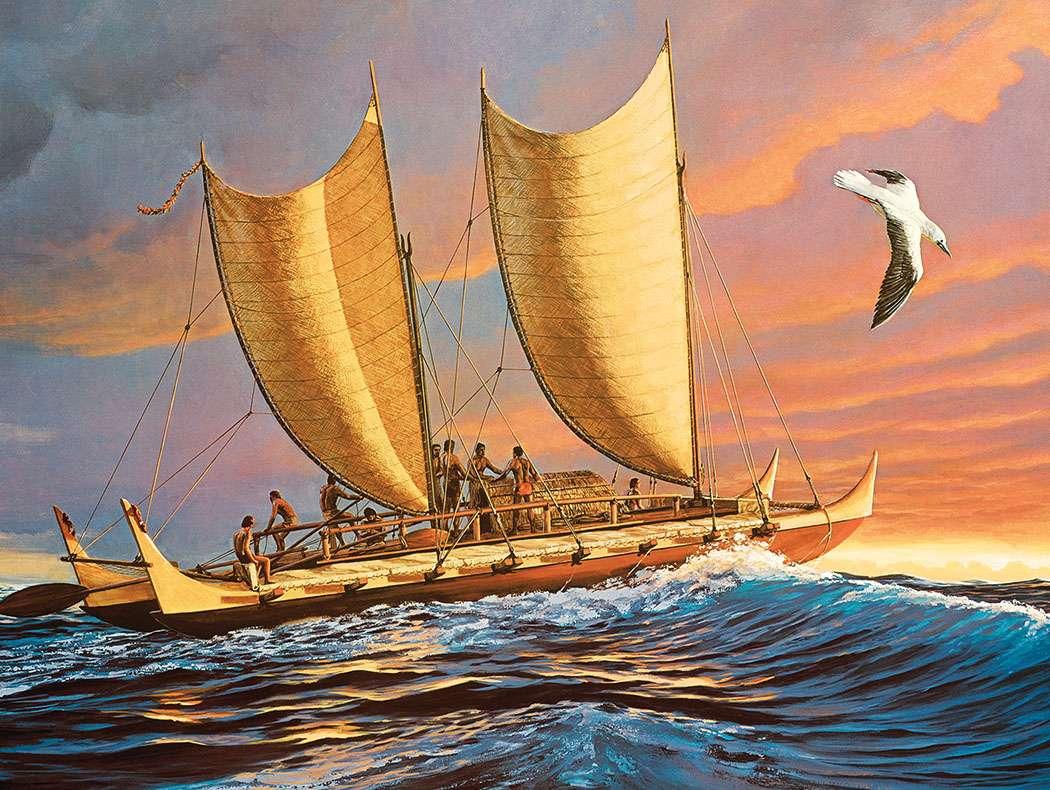 دریانوردی جزیره نشینان