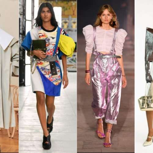 Patou, Louis Vuitton, Isabel Marant, and Givenchy.