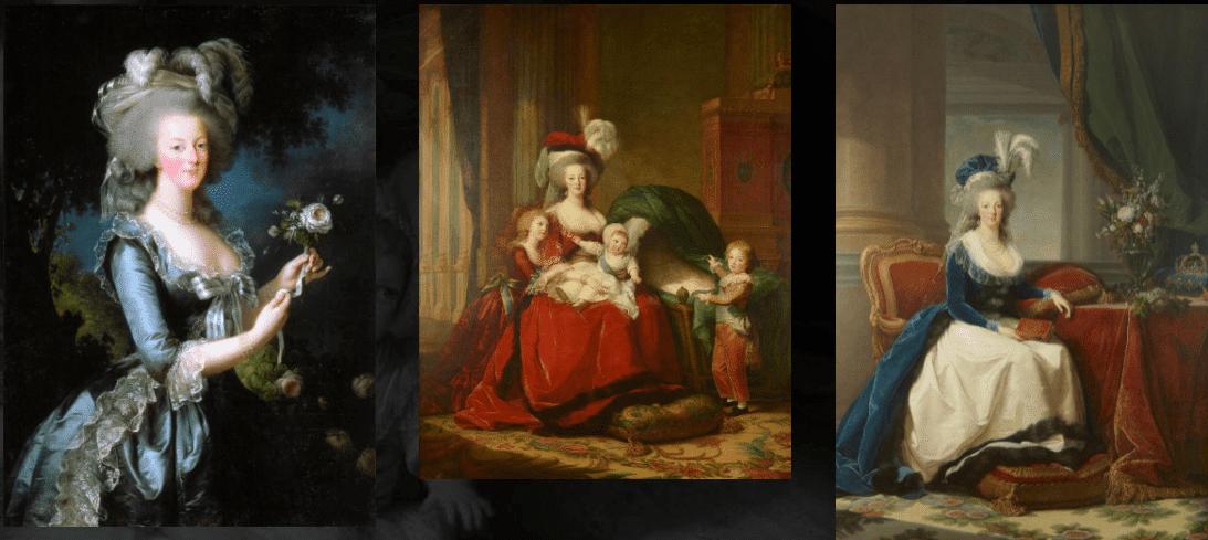 نقاشیهایی از ملکه، اثر الیزابت نقاش دربار
