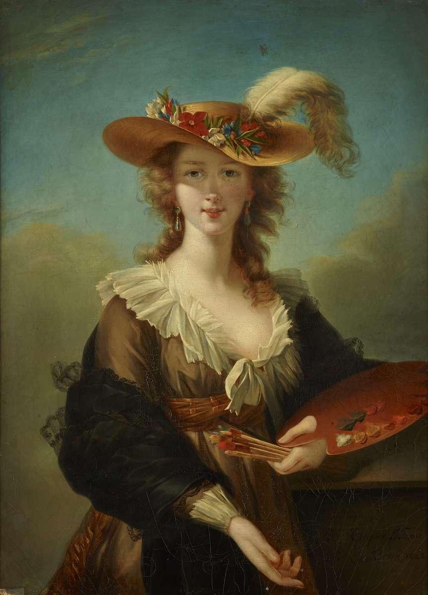 الیزابت، نقاش پرتره دربار از مشتریان برتن